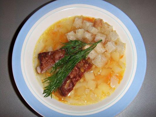 Суп с ребрышками в мультиварке