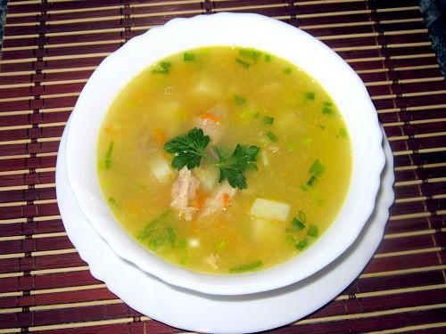 Вкусный гороховый суп в мультиварке